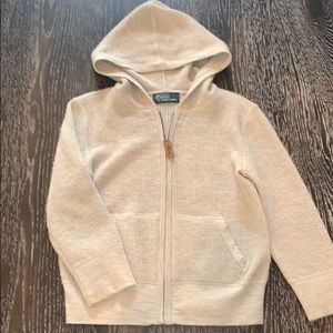 100% cashmere polo by Ralph Lauren sweater